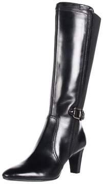 AK Anne Klein Women's Gaelyn Leather Boot.
