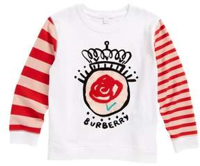 Burberry Rose Stripe Top