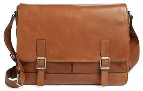 Frye Men's Oliver Leather Messenger Bag - Brown