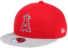 New Era Boys' Los Angeles Angels of Anaheim Heather Vize 9FIFTY Snapback Cap