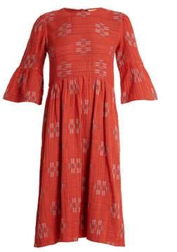 Ace&Jig Janis Jolie geometric-jacquard cotton dress