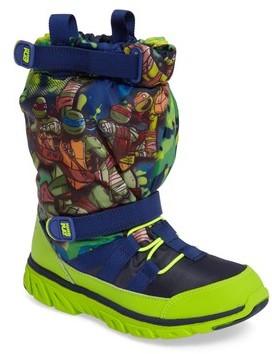 Stride Rite Infant Boy's Made2Play Teenage Mutant Ninja Turtles Sneaker Boot