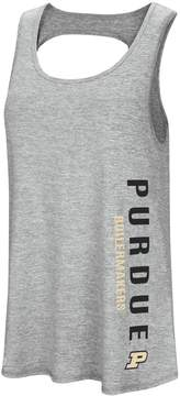 Colosseum Women's Purdue Boilermakers Twisted Back Tank Top