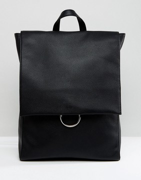 ASOS Ring Flap Backpack