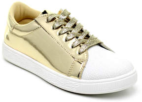Refresh Champagne & White Toe Action Sneaker