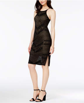 Bar III Burnout Bodycon Dress, Created for Macy's
