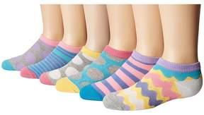 Jefferies Socks Dots/Stripes Low Cut 6-Pack Girls Shoes
