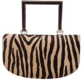 Jimmy Choo Ponyhair Handle Bag