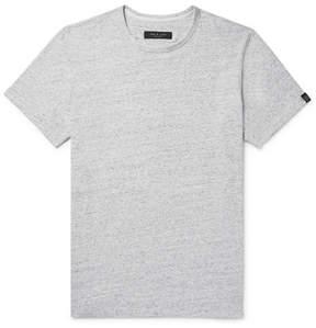 Rag & Bone James Mélange Cotton-Jersey T-Shirt