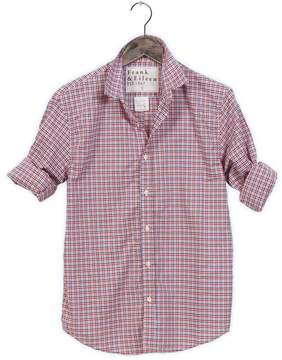 Frank And Eileen Mens Paul Limited Edition Checkered Grid Shirt