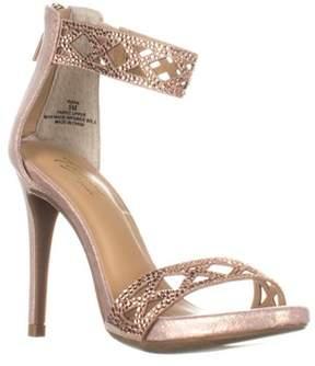 Thalia Sodi Ts35-riana Ankle Strap Heels, Rose Gold.