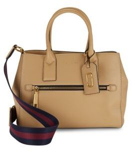 Marc Jacobs Gotham Leather Satchel - SAND - STYLE