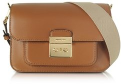 Michael Kors Women's Brown Leather Shoulder Bag. - BROWN - STYLE