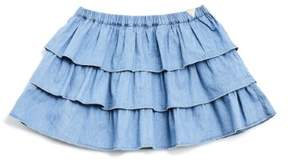 GUESS Girl's Chambray Skirt