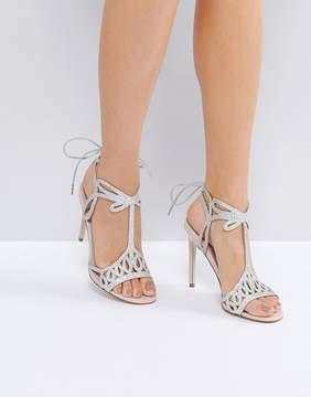 Faith Fizz Cutout Heeled Sandals