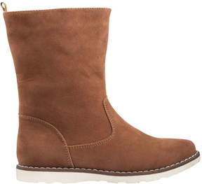 Joe Fresh Kid Girls' Sueded Boots, Tan (Size 4)