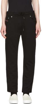 Diesel Black Jiffery-SW Lounge Pants