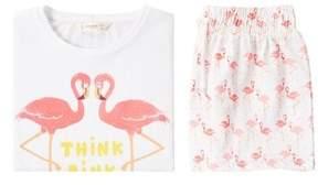 MANGO Flamingos printed pyjama