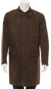 Hermes Woven Macintosh Coat