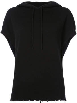 RtA hooded shortsleeved sweater