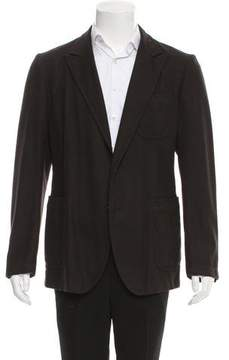 Bottega Veneta Deconstructed Wool Sport Coat