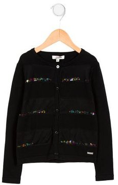 Junior Gaultier Girls' Button-Up Cardigan w/ Tags