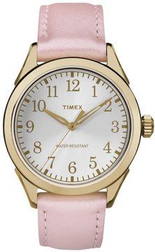 Timex Women's Briarwood Terrace Leather Watch
