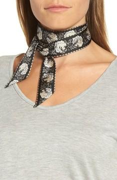 Echo Women's Floral Silk Mini Scarf