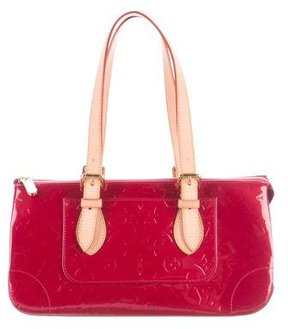 Louis Vuitton Vernis Rosewood Avenue Bag - RED - STYLE