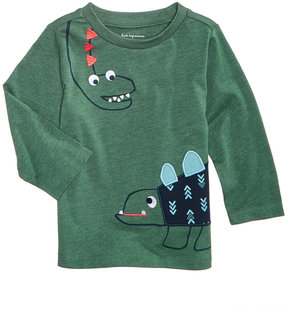 First Impressions Dinosaur-Print T-Shirt, Baby Boys (0-24 months), Created for Macy's