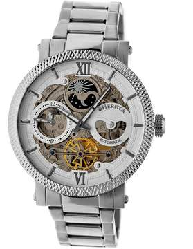 Heritor Aries Automatic Skeleton Dial Men's Watch