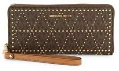 MICHAEL Michael Kors Travel Continental Money Pieces Wristlet - IVORY - STYLE