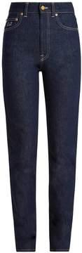 Emilia Wickstead No. Twenty Eight high-rise slim-leg jeans