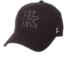 Zephyr Kentucky Wildcats Black & White Competitor Cap