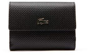 Lacoste Women's Chantacopiqu Leather Wallet