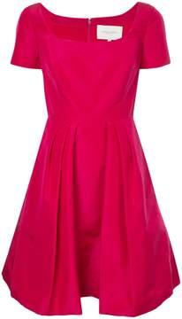 Carolina Herrera flared square-neck dress
