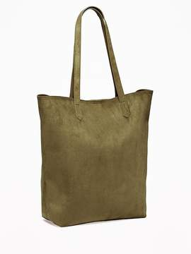 Sueded Tote for Women