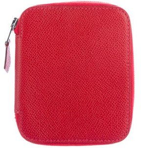 Hermes Chevre Compact Agenda - RED - STYLE