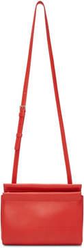 Calvin Klein Red Top Zip Cross Body Bag
