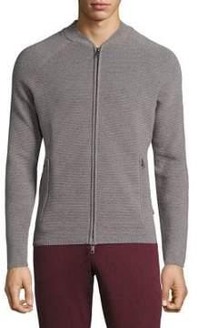 J. Lindeberg Trust Ribbed Zip Jacket