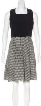 Andrew Gn Wool-Blend Knee-Length Dress