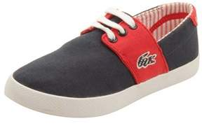 Lacoste Toddler Fairchampe Lace Up 117 Sneakers In Navy/red.