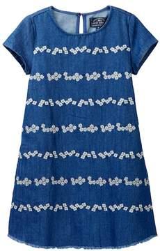 Lucky Brand Jodie Embroidered Denim Dress (Toddler Girls)