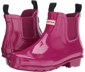 Hunter Original Chelsea Gloss Kids Shoes