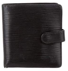 Louis Vuitton Epi Porte Billets Compact Wallet