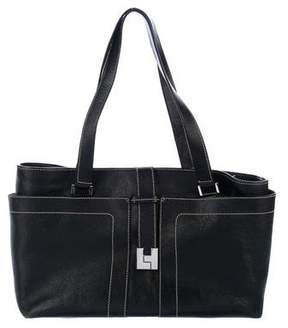 Lambertson Truex Grained Leather Tote