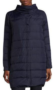 Eileen Fisher Cocoon Down Filled Coat