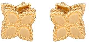 Roberto Coin 18K Yellow Gold Small Princess Flower Earrings