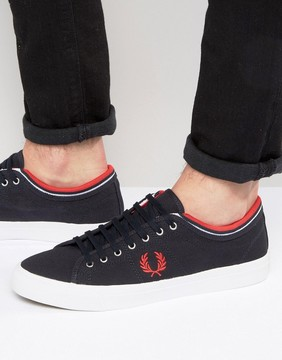 Fred Perry Kendrick Tipped Canvas Sneakers