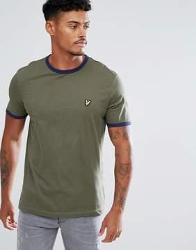 Lyle & Scott Ringer T-Shirt Khaki